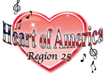 Welcome to Heart of America Region 25 Logo